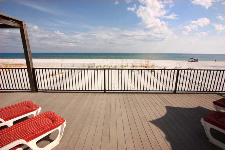 Gulf shores beach house right on the sand beachfront 4 bedroom 3 5 bath sleeps