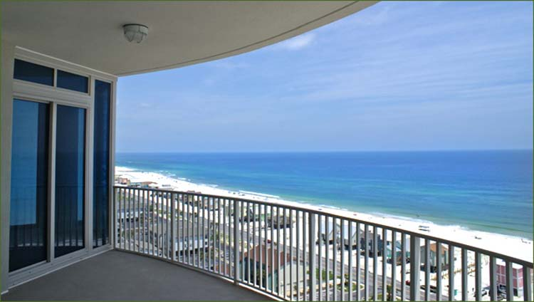 Gulf shores beach condo 360 degree 4 bedroom 3 5 bath penthouse vacation rental